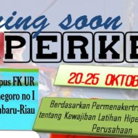 Coming Soon! Workshop Hiperkes (Higiene Perusahaan Ergonomi dan Kesehatan) FK UR