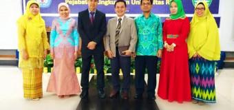 Serah terima jabatan dan pelantikan Wakil Dekan baru FK UR