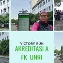 Raih Akreditasi A, Civitas Akademik FK UNRI Lakukan Selebrasi Unik