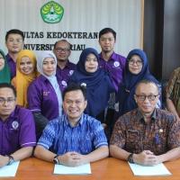 Perjanjian kerjasama FK UNRI dengan Dinas Peternakan dan Kesehatan Hewan Provinsi Riau dan PDHI