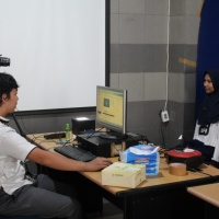 Perekaman e-KTP goes to campus FK UNRI