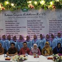 Yudisium Sarjana Kedokteran Ke-65 Fakultas Kedokteran Universitas Riau