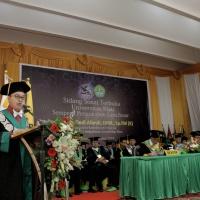 Pengukuhan Guru Besar Pertama dari Fakultas kedokteran Universitas Riau