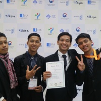 Mahasiswa FK Unri Raih Bronze Prize Award di Ajang Seoul International Invention Fair, Korea