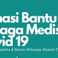 Kolaborasi Civitas dan Alumni FK Unri Galang Donasi Tangani Covid19