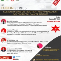 """5th FUSION SERIES """"CURRENT UPDATE ON TREATMENT AND MANAGEMENT OF COLORECTAL CANCER PANTIENTS"""""""