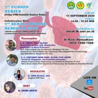 "7th FUSION SERIES ""Covid-19 Update, From Clinical to Elimination Strategies in RIAU Province"""