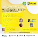 FK Unri dan Prodia Taja Web Seminar Riset Mutakhir COVID-19